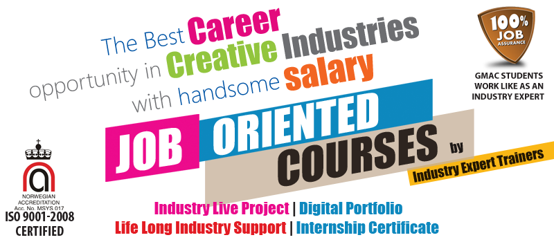 The Best Career Opportunity in creative Industries with handsome salary