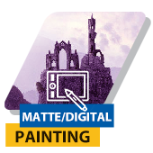 Matte Painting for Graphic designer