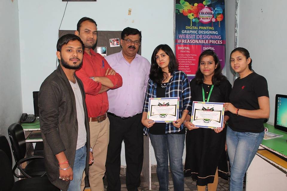 Gmac Animation Activities graphic designing institute certificate award | GMAC Animation