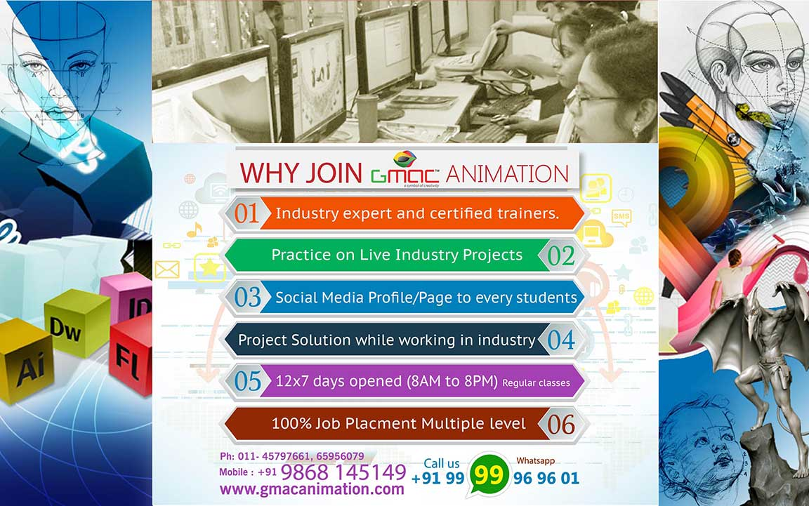 top web designing training centre in delhi by industry expert with 100 percent job