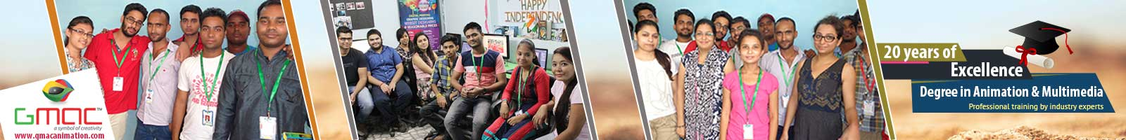 University degree in Animation and Multimedia  in Delhi