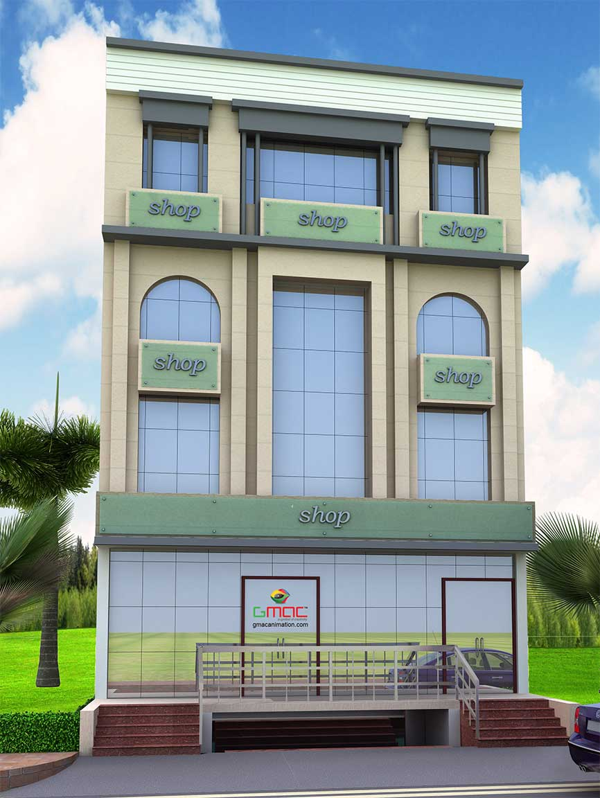 Gmac Animation Activities 2D/3D Interior designing in 3D's Max