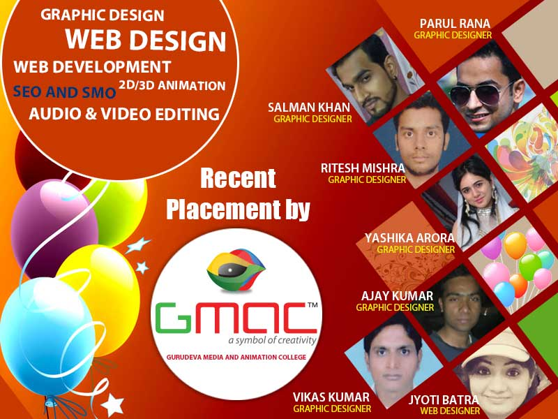 gmac animation success full alumni place in industry