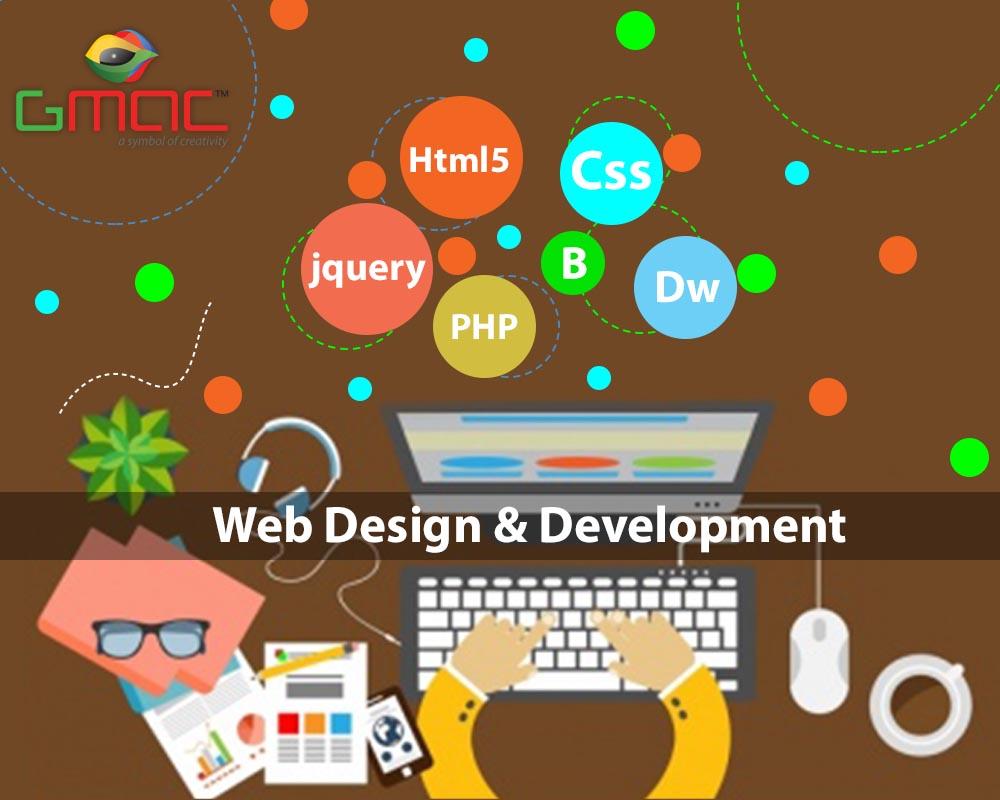 top website designing course in laxmi nagar, delhi @gmacanimation
