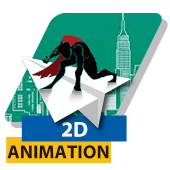2D Animation course for web and cartoon film